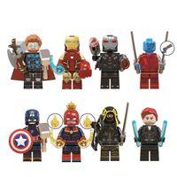 Мини Минифиг мультфильм кирпичные строительные блоки подарок детские игрушки