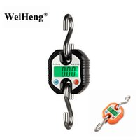 Weiheng 150kg 50g mini pesado eletrônico eletrônico digital de aço inoxidável escala de gancho de pendurar escala de guindaste lcd saldo de peso