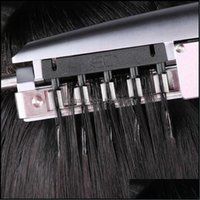 Extensions ProductShair Adapter 6D Andra generationen Real Buckle Hair Feather Traceless 8D Drop Leverans 2021 Y8RK9