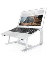 Supporto per laptop supporto in alluminio Supporto ergonomico compatibile con MacBook Air Pro Dell XPS More 10-17 pollici di lavoro da home-sliver Silver