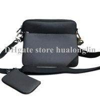 High Quality Handbag Men Bag 3 in 1 Serial number Leather man purse shoulder bag cross body Messenger