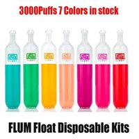 FLUM FLOAT Disposable vapes max Puff Bars E Cigarette Pod Device Kit 3000 Puffs Prefilled 8ml Cartridge Vape Pen vapors wholesale vaporizer OEM ODM