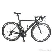 Новое поступление Полный углеродный велосипед T1000 UD завершен велосипед UD Мэтт / глянцевая рамка + колеса + руль + седло + оригинальность R8000 GOODSSET полный велосипед