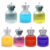 Car Air Freshener Perfume Ornaments Accessories Refillable Glass Bottle For Cars Decors 7 Fragrances 1 Piece