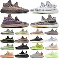 adidas kanye west yeezy boost 350 v2 yeezys yezzy chaussures men yecheil scarpe 2021 shoes earth cinder zyon 3m white black reflective mens women stock x sneakers size 36-45