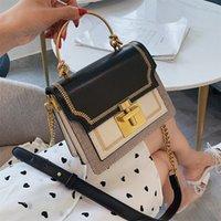 Fashion Branded High-end Lock Crossbody For WomenMessenger bag PU Leather Flap Vintage Shoulder Ladies Bag Designer Messenger