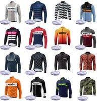 Morvelo Takımı Erkek Bisiklet Kış Termal Polar Jersey Ropa Ciclismo Hombre Invierno Uzun Bisiklet Jersey Maillot MTB Giyim S21031716