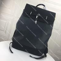 Высококачественный пароход рюкзак роскошный рюкзак роскошный дизайнер рюкзаки бренда мужчины женщины натуральная кожаная школьная сумка sourchel