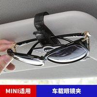 Glasses Holder Car Sun Visor Clip Sunglasses Holder for BMW MINI COOPER F54 F55 F56 F60 R56 R60
