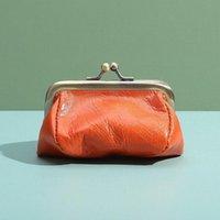 Cüzdan kadın hakiki deri sikke çantalar vintage çok yönlü küçük cüzdan katı renk kadın mini para çantası hediye bayanlar torage