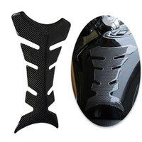 10 stks / partij 3D Motorfiets Fishbones Sticker Carbon Fiber Tank Pad Tankpad Protector Sticker voor Motorfiets Universele