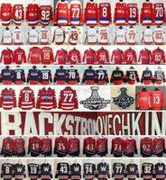 2021 Revers Retro Capitales de Washington # 8 Alex Ovechkin Tom Wilson TJ Oshie John Carlson Evgeny Kuznetsov 35 Henrik Lundqvist Hockey Jerseys