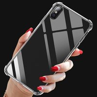 1.5mm Clear TPU Cell Phone Cases for iPhone 5 6 8 11 Pro Max 12 Mini Sam S20 S21 FE Note 20 Ultra LG Stylo 7 Moto G9 Power Xiaomi Mi 10 OnePlus Nord N100 5G Transparent Back Cover