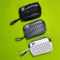 حقيبة يد جولف المسامير الكتلة بارد تصميم الأزياء المحمولة التبعي تخزين حقيبة لمفاتيح الهاتف المحمول الحقيبة