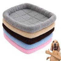 Kennels Pens Fluffy Casting Dog Cuna para perros pequeños Matones Mats Pellejes Mats Cestas Cestas de Mascotas Cat