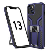 Armor Kickstand Phone Cases For Iphone 13 Pro Max Mini 12 11 XSMAX XR XS X 8 7 6 SE Magnetic Car Support Cellphone Case Protection Back Cover
