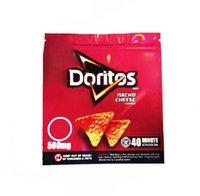 Edible Packaging bags Potato chips medibles 500mg Cheetos Maylar resealable DORITOS relation Cheese Gummi Worm Edibles bag RUFFLES FRITOS