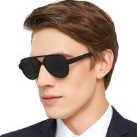 Occi Chiari Gafas de sol para hombres Vintage Gafas de sol Polarizadas Diseñador Gafas de sol TR90 GAFAS DE SOL ZONNEBRIL HEREN