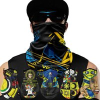 Cold sense sunscreen full face riding mask men's and women's magic headscarf bicycle Scarf Collar Set Equipment