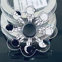 Spinning TOP LAND Griff Spinner Spielzeug Reversible Zinklegierung Metall Hand Spinners Fingerspitzen Gyro Dekompression Angstspielzeug Viele Arten gemischt