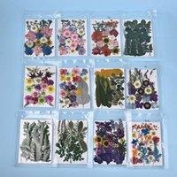 장식 꽃 화환 1 팩 말린 독점 사용자 정의 독특한 UV 수지 천연 꽃 스티커 드라이 데칼 에폭시 DIY 장식