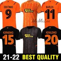 21 22 Shakhtar Donetsk Futbol Forması 2021 2022 Camiseta Solomon M. Antonio Konoplykanka Tete Ismaily Dodo Marlos Kovalenko Futbol Gömlekleri
