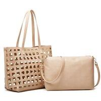 HBP classico Designer Designer Stampa fiori 2 in 1 borsa a catena in pelle portafoglio trasversale a tracolla con spalla a tracolla a tracolla