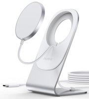 Choetech شاحن لاسلكي [20W محول USB C + شاحن Mag-Netic] -I-Phone 12 Series White