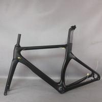 Seraph جديد إيرو تصميم كل لون أسود القرص الكربون الطريق الدراجة الإطار ألياف الكربون سباق القرص دراجة الإطار 700C دراجة TT-X3