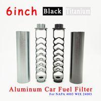 Spiral de extensão de 6 polegadas 1-2-28 ou 5-8-24 filtros de óleo de carro Core único para Napa 4003 Wix 24003 Filtro de Solvente de Trap de Combustível