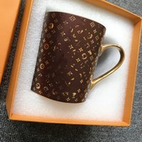 Tazze da bevande per acqua di caffè Lettera unisex stampata Bottiglie di moda di alta qualità Bottles Bock Cup