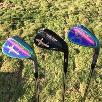 2021 Golfwedges Datang Dragon Phoenix / Crucifix-Keile geschmiedet 52 56 60 Grad mit dynamischem Gold S300 Welle Golf Clubs