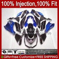Kawasaki Ninja Z 1000 R Z1000 2011年2011年2011年013年Z-1000R 2010-2013 Z-1000R 10 11 12 13 OEMフェアリングキット光沢のある青