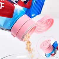 Clip borsa snack sigillatura clip in plastica fresco mantenimento della tenuta stoccaggio stoccaggio bottiglia sigillata tappo self famiglia cucina gadget organizzazione