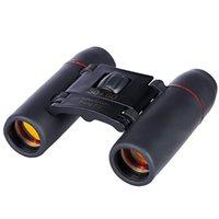 Teleskop Dürbün Taşınabilir Mini Katlanır Zoom HD 30x60 Uzun Mesafe 1000 M Bak4 20x Optik Avcılık Kamp Açık Spor