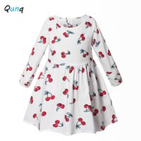 Qunq Girls Dress Floral Long Sleeve Spring Fall Kids Dresses...