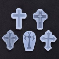 Baking Moulds Big Cross Charms Pendant Silicone Mold Resin Mould Craft Tool DIY Epoxy Molds Jewelry H629