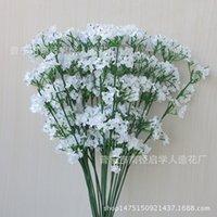 Decorative Wreaths Festive Party Supplies & Garden Arrive Gypsophila Babys Breath Artificial Fake Silk Flowers Plant Home Wedding Decoration