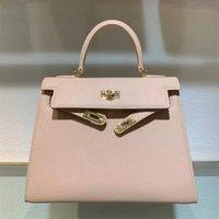 패션 디자이너 지갑 여성 totes 숄더 가방 스탬프 잠금 고품질 정품 가죽 핸드백 스카프 말 매력 절묘한 포장 및 원래 상자