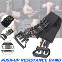 Resistance Bands Adjustable Bench Press Band Muscle Builder Arm Expander Home Workouts Gym Fitness Equipment Elastic