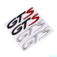 Creatieve 3D Auto Sticker Metalen GTS Chrome Embleem Badge Achterstam Decal Auto Stickers Auto Styling Accessoires Persoonlijkheid
