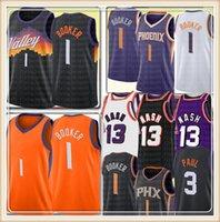 2021 Devin 1 Booker Jersey New Chris 3 Paul Basketball Jerseys Retro Mesh Steve 13 Nash Jersey Mens MENS S M L XL XXL999