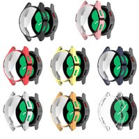 Case For Samsung Galaxy Watch 4 40MM 44MM Cover Bumper Accessories Protector Full Coverage Silicone TPU Screen Protection