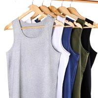 2021 cor pura preto branco ginásio masculino músculo mangas camisola t-shirt t-shirt fitness bodybuilding esporte colete