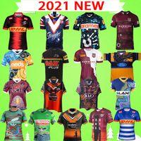 2021 Super Rugby League Nrl Jersey Raiders Black Shark Pantera Maru Seahawks Parramatta Indígena Coelho West Tigre Furacão Training Wear Terno Adulto Camisa