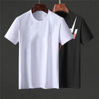2020 Yeni Stil Nakış Tasarımcısı Erkek T Gömlek Rahat Sokak Gençlik Adam Moda Sokak Gevşek Spor Çiftler AB Boyutu Vintage T Shirt M-3XL