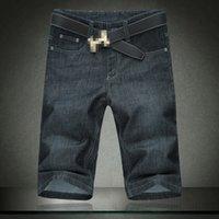 2021 летние чернокожих мужчин Жан негабаритные 54 56 мода мужские короткие джинсы эластичные хлопковые джинсовые шорты штаны 1378 Agri