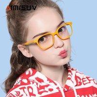 Óculos de sol triver azul luz bloqueando óculos para menino menina quadro óptico 2021 moda anti-reflexo computador óculos criança uv400