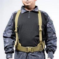 허리 지원 1PC 휴대용 조정 가능한 허리 밴드 다기능 전술 씰 나일론로드 벨트 야외 훈련 장비 1