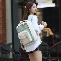 Mochila d m dole donut viajar homens e mulheres bolsa de computador leves rucksack estudante escola grande capacidade de moda chiqueiro
